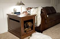 Big Sale Large Mahogany TownHaus Hideaway Dog House Nightstand End Table