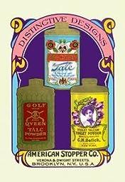 30 x 20 Canvas. Golf Queen Talc Powder, Per-Oxide Talc, and Selick\'s Violet Talcum Powder