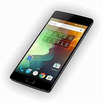 Grand HD écran 5,5 pouces OnePlus 2 / OnePlus Two Smartphone débloqué 4G LTE 64bit OS H2OS / Android 5.1 4GB 64GB Octa Core Snapdragon 810 - Caméra arrière 13.0MP, Touch ID