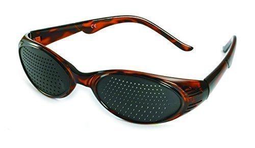 415 KMB - alta qualità Occhiali stenopeici - bifocale Griglia - incl. Etui, Manifesto allenamento + CD Audio
