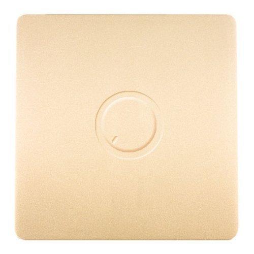 Trendi Switch Artistic Modern Glossy Dimmer Switch Gold