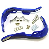 TMS® Blue Handlebar Hand Brush Guards for Honda Motocross Off-road ATV Dirt Bike Dualsport Motorcycle MX XL XR CRF 200 250 350 400 450 500 600 650