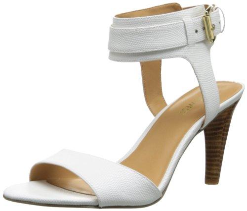 Nine West Women'S Mixie Dress Sandal,White,7 M Us