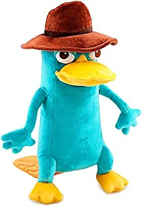 Disney Phineas and Ferb Deluxe 13 Inch Plush Figure Agent P Perry