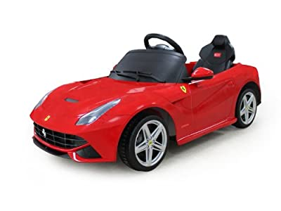Licensed Ferrari F12 Electric Battery Powered Ride on Car with Remote - New