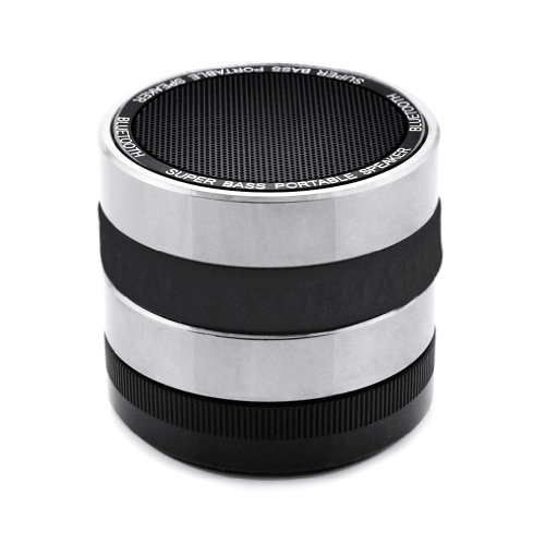 Bluetooth Wireless Speaker Mini Portable Super Bass For Iphone For Samsung Black