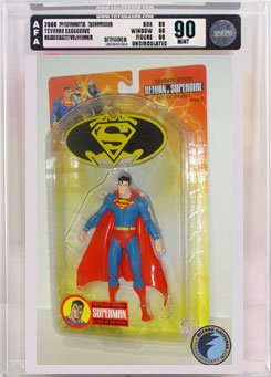 Picture of AFA Superman/Batman 2: Superman Action Figure AFA 90 (B000R4HFRU) (Batman Action Figures)