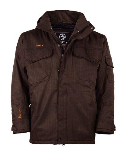 Große Größen Outdoor-Jacke braun First B jetzt bestellen