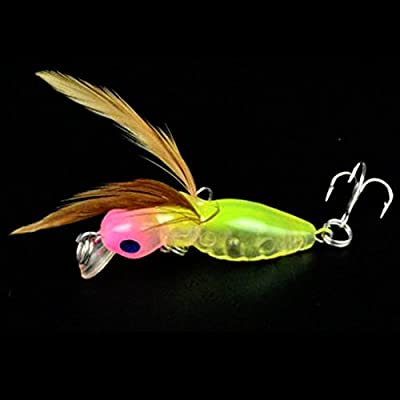Meidus Top Cicada Fishing Lures Bass Crankbaits 4.5Cm Float Baits by Meidus