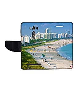 KolorEdge Printed Flip Cover For Asus Zenfone Go 16GB Multicolor - (1478-50KeMLogo10801ZenGo)