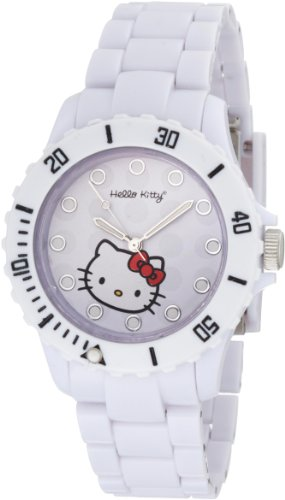 Hello Kitty Women's H3WL1001WT White Dial Watch