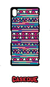 Caseque Vintage Aztec Back Shell Case Cover For Sony Xperia Z3