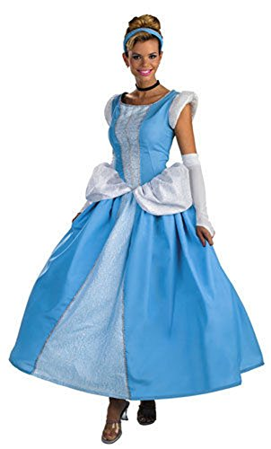 Generic Women's Adult Princess Belle Beauty and The Beast Halloween Fancy Dress