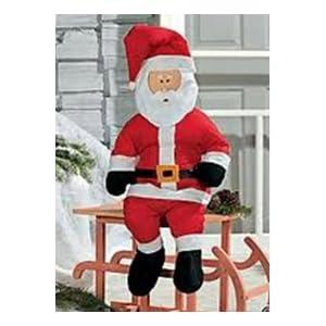 Stuff a santa 4 foot tall stuffable santa claus christmas for 4 foot santa claus decoration