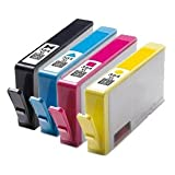 1x Mutipack of HP 364XL Remanufactured Ink Cartridges - (contains: Black,Cyan,Magenta and Yellow) Chippedby Cobra Inks