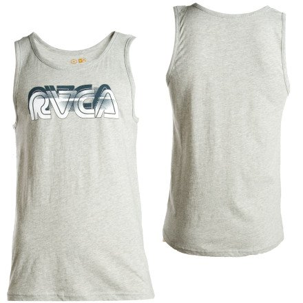 Sever RVCA Tank Top - Men's Heather Gray, S
