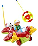 Holy Stone RC Cartoon Airplane Radio Control Toy for Toddlers & Pre-Kindergarten