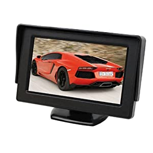 Esky 4.3 Inch Color LCD TFT Rearview Monitor screen for Car Backup Camera