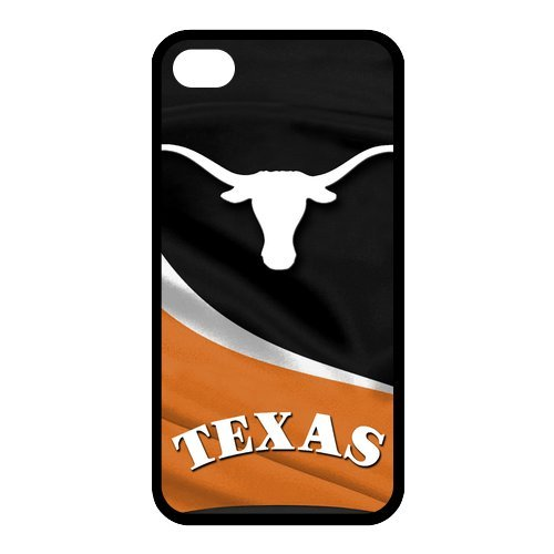NCAA Texas Longhorn Slim Fit Iphone 4 4S TPU Silicone Back Case Cover at Amazon.com
