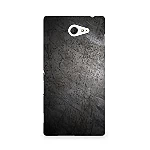 TAZindia Designer Printed Hard Back Mobile Case Cover For Sony Xperia M2