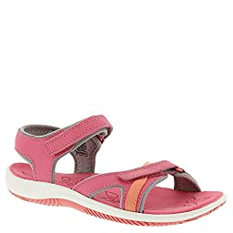 KEEN Harper Sandal (Toddler/Little Kid), Camellia Rose/Gargoyle, 9 M US Toddler