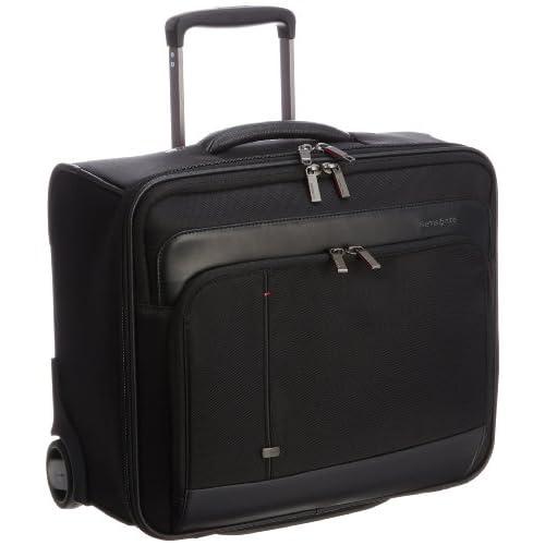 [サムソナイト] SAMSONITE Essence Pro / エッセンシス プロ ローリングトート(機内持込可・ビジネスキャリー・横型・ローリングトート・出張・軽量・PC/タブレット収納・保証付) R32*09006 09 (ブラック)