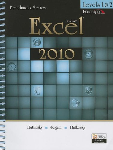 Microsoft Excel 2010, Levels 1 & 2 [With CDROM]...