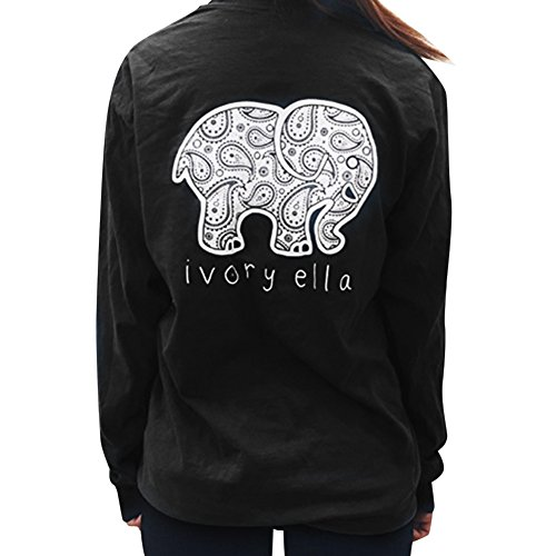 clothingloves-new-ivory-el-la-women-t-shirt-long-sleeve-elephant-printed-o-neck-5-colors-cotton-wome