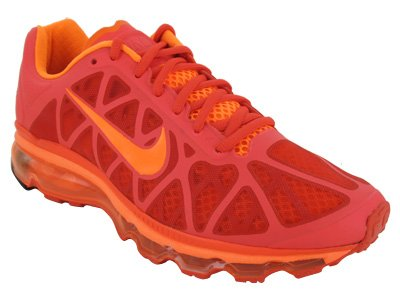 ... Nike Air Max 2011 Mens Running Shoe Grey Orange ...