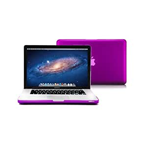 Macbook Pro 13 Case, GMYLE Deep Purple Frosted Matte Hard Cover for Macbook Pro 13(Model: A1278) (not fit for 13 MacBook Pro with Retina display)