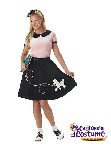 California Costumes Women's 50'S Hop With Poodle Skirt Costume
