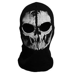 Yiding Call of Duty 10 COD Ghost Balaclava Logan Skull Face Mask Hood Biker #9 by Santimon