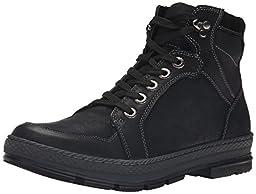 Steve Madden Men\'s Lennd Fashion Sneaker, Black, 9.5 M US