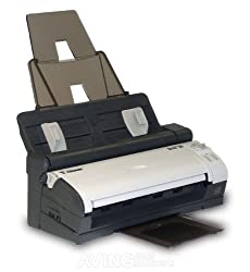 Visioneer Strobe 500 Mobile Duplex Color Scanner with Docking Station ADF 600 DPI and USB