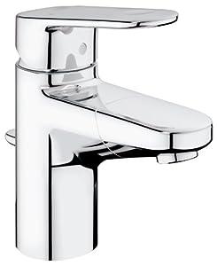Grohe europlus 33155002 miscelatore monocomando per lavabo bocca estraibile n fai da te - Rubinetti bagno amazon ...