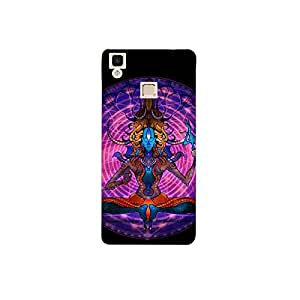 Vivo v3 max nkt11_R (14) Mobile Case by Mott2 - Lord Shiva in Meditation