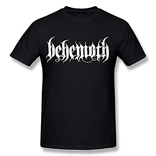 Men's Behemoth Logo T Shirt Black