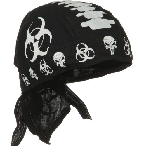 Skull Series Headwrap-Biohazard One-Size W13S15F