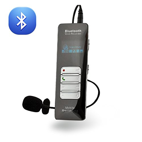 Bluetooth Voice Soundcall Recorder for Mobile Phones 4gb