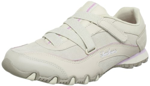 Skechers Women's Bikers-Texture Casual Lace Ups
