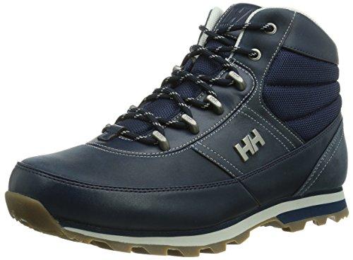 Helly Hansen Woodlands Stivali da escursionismo, Uomo, Blu (Evening Blue/Ash Grey), 44