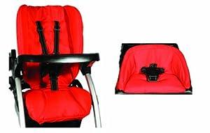 Joovy Ergo Deluxe Seat Covers - Red