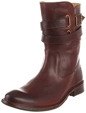 FRYE Women's Shirley Ankle Boot, Dark Brown, 6.5 M US