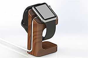 Apple Watch Stand KINGCOOL(TM) Apple Watch Wood Oak Charging Dock iWatch Stand Bracket Docking Station Charger Holder for 2015 Apple Watch Both 38mm and 42mm(Wood)