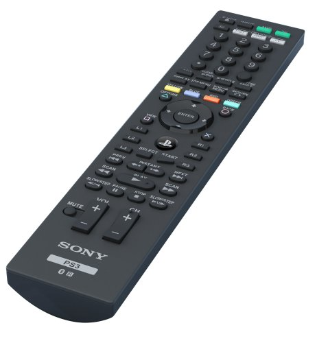 Sony Ps3 Media/Blu-Ray Disc Remote Control