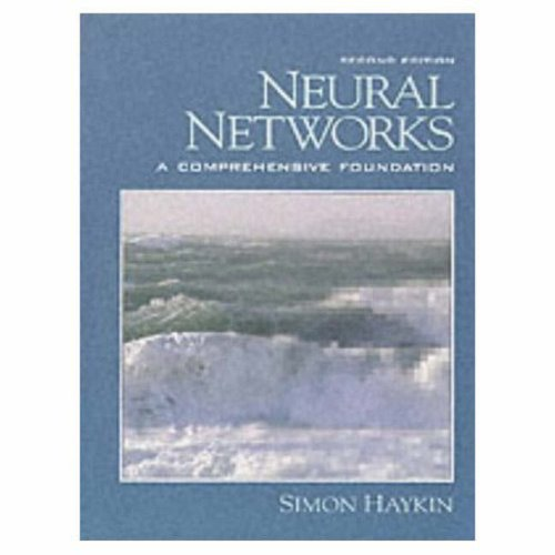 Neural Networks: A Comprehensive Foundation