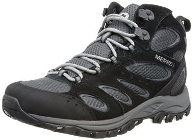 Merrell Tucson Mid Waterproof, Men's Hiking Boots, Black J41805, 7 UK