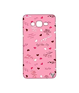 Vogueshell Valentines Day Pattern Printed Symmetry PRO Series Hard Back Case for Samsung Galaxy Grand Prime