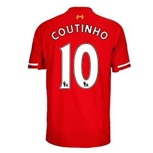 2013-14 Liverpool Home Shirt (Coutinho 10) from Warrior Sports