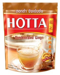 Hotta Ginger Concentrated Instant Powder 15G X 14 Sachets Best Seller Of Thailand